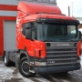 Scania P340 truck tractor